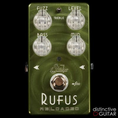 Suhr Rufus Reloaded Fuzz  Olive Green for sale