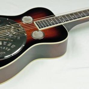 Recording King RR-60 Professional Squareneck Resonator Vintage Sunburst