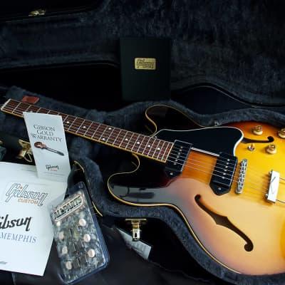 "Gibson Custom Shop 1958 Historic Reissue Memphis ES-330 ""VOS""  Vintage Burst 2012"