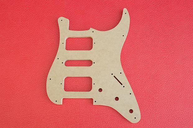 Fender Stratocaster H S H Pickguard Guitar Router Template Reverb