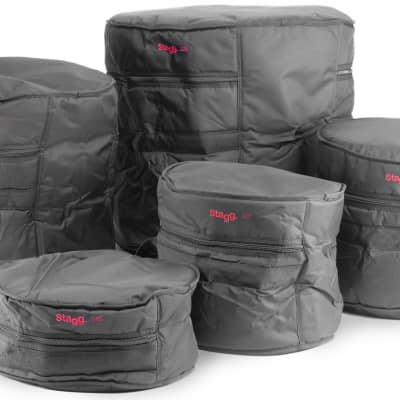 Stagg 5-Drum bags ECO set