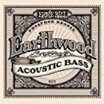 Ernie Ball Earthwood Phosphor Bronze Acoustic Bass Strings 45-95 Gauge P02070