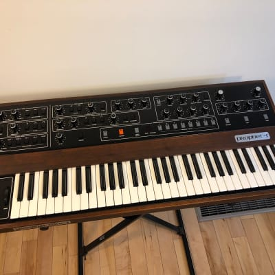 Sequential Circuits Prophet 5 Rev 2 video demo