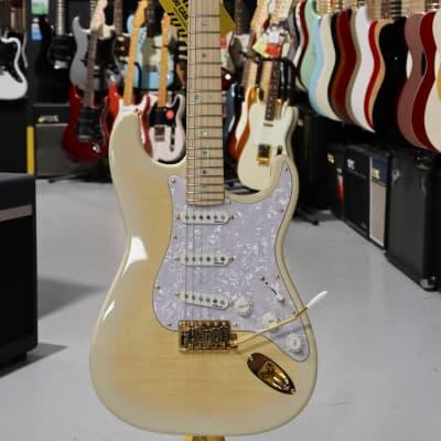 Fender Fender Stratocaster Richie Kotzen  See Thru White  + hardcase Fender for sale
