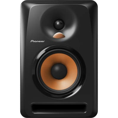 """Pioneer DJ BULIT5 2-Way 5"""" 80W Active Reference Studio Monitor Speaker with Groove Technology, Bi-Amped Class AB Amplifier and Convex Diffuser"""
