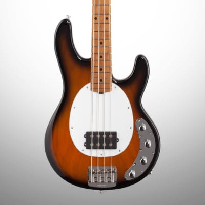 Ernie Ball Music Man StingRay Special 4H Electric Bass, Maple (with Case), Tobacco Sunburst