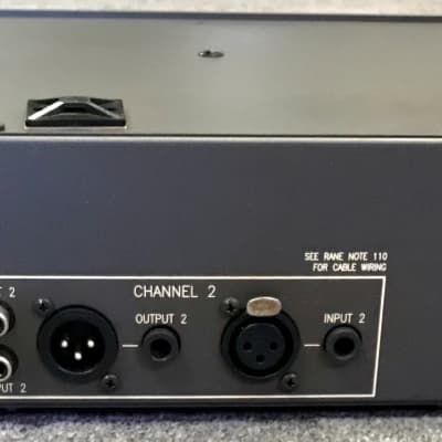Rane ME-60 Dual Channel 30-Band MicroGraphic Equalizer