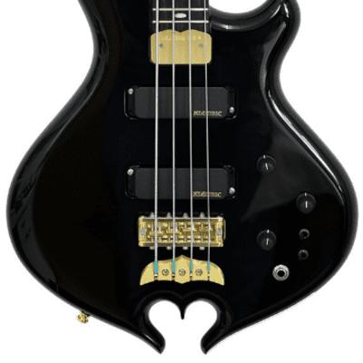 Alembic Darling Bass Shortscale Black Violet LED for sale