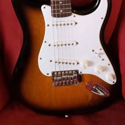 Fender Squier Affinity Series Brown Sunburst Electric Guitar
