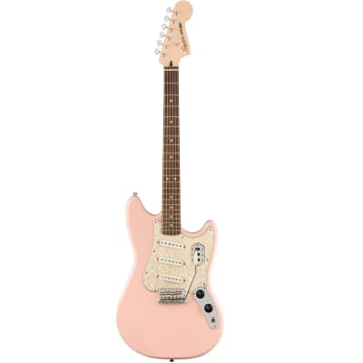 Squier Paranormal Series Cyclone Telecaster Electric Guitar, Shell Pink
