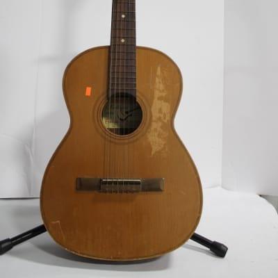 Giannini  Model 6 Acoustic Guitar  1966 Natural for sale