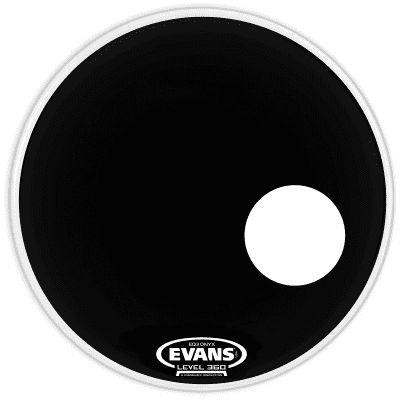 Evans BD18RONX Onyx Resonant Bass Drum Head - 18""