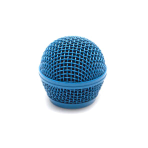 Seismic Audio SA-M30Grille-BLUE Replacement Steel Mesh Mic Grill Head