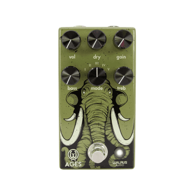 New Walrus Audio Ages Five-State Overdrive Guitar Effects Pedal