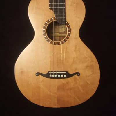 Bruce Wei Bear Claw Spruce, Mahogany Slotted Head Parlor Guitar PG-4290 for sale