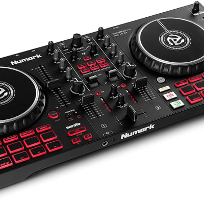 Numark - Mixtrack Pro FX – 2 Deck DJ Controller For Serato DJ with DJ Mixer