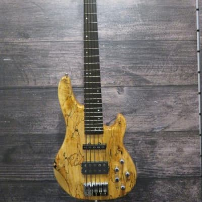 Clover X-15 Burl Top 5 String bass for sale