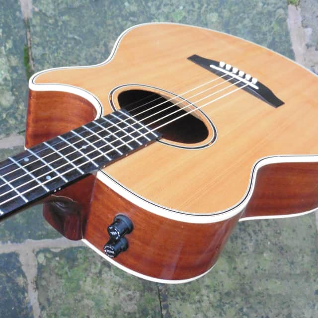 ♫ Ibanez Vintage Japanese Electro Acoustic AE400 ♫ 1980's Artwood Series + Cool!♫ image