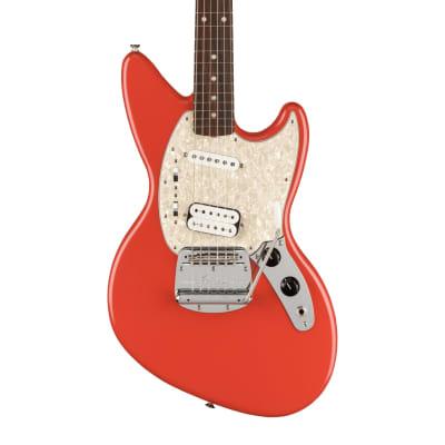 Fender Kurt Cobain Jag-Stang Rosewood Fiesta Red - IN STOCK