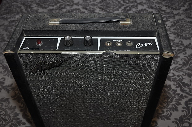Mid 60's Alamo Capri 1x8 Combo tube guitar amp Alamo Amp Schematics on
