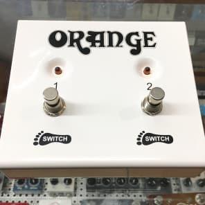 Orange 2-Button Footswitch