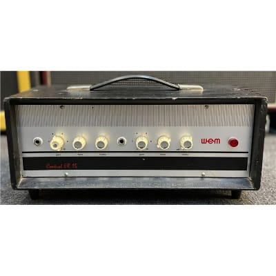 WEM 1960s Control ER15 15w Head, Second-Hand for sale