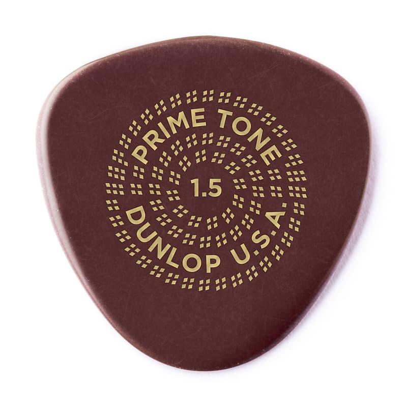 Dunlop 515P150 Primetone Semi-Round Smooth Pick 1.5mm (3-Pack)