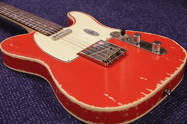 maybach teleman t61 custom red rooster gloss 2017 | reverb
