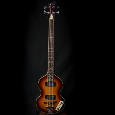 Used Jay Turser Violin Bass - Sunburst 122219 for sale