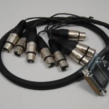 Redco 3ft DSUB-XLRF Redco TGS-8 Neutrik connectors