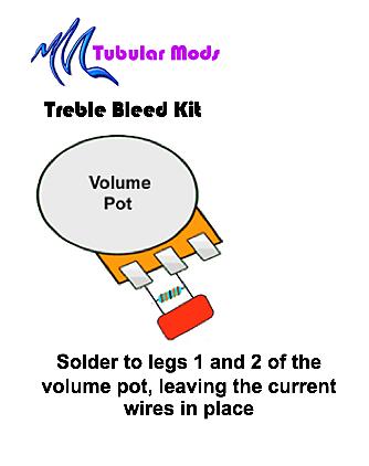 tubular mods treble bleed kit for guitar tubular mods reverb. Black Bedroom Furniture Sets. Home Design Ideas