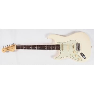 Fender American Original '60s Stratocaster Olympic White Left Hand for sale