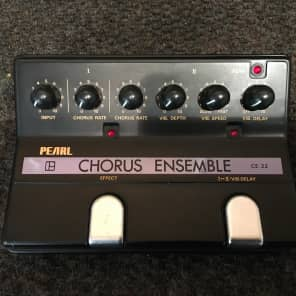 Pearl CE-22 Chorus Ensemble  80s w/box for sale