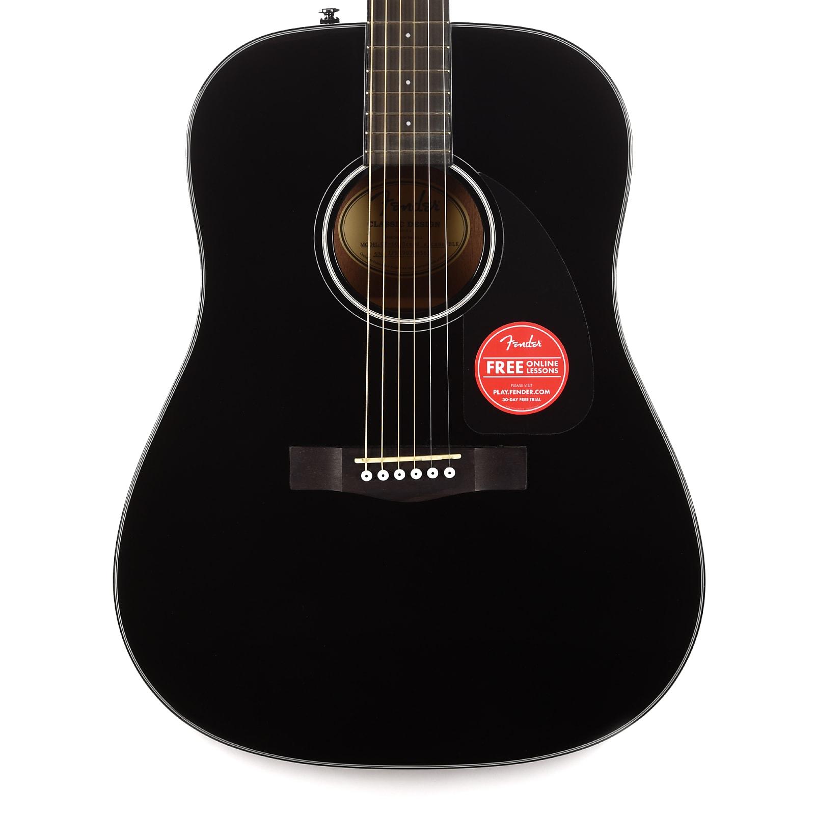 Fender CD-60 Dreadnought V3 Black USED