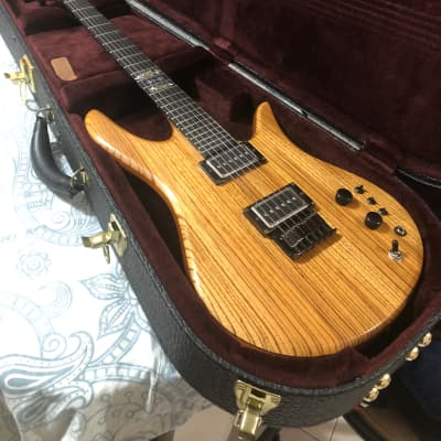 Fodera Monarch 1983 Zebrawood for sale
