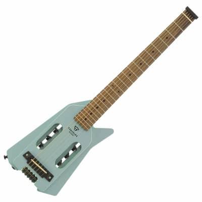 Traveler Ultra-Light Edge Acoustic-Electric Travel Guitar 2020 Blue