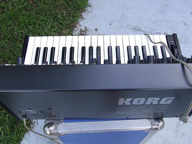 ORIGINAL Korg MS20 MS 20 MS-20 late 70s Grey Black Vintage ...