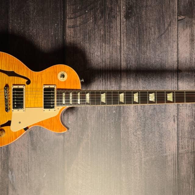 Gibson 2015 ES Les Paul Lemon Burst With Case image