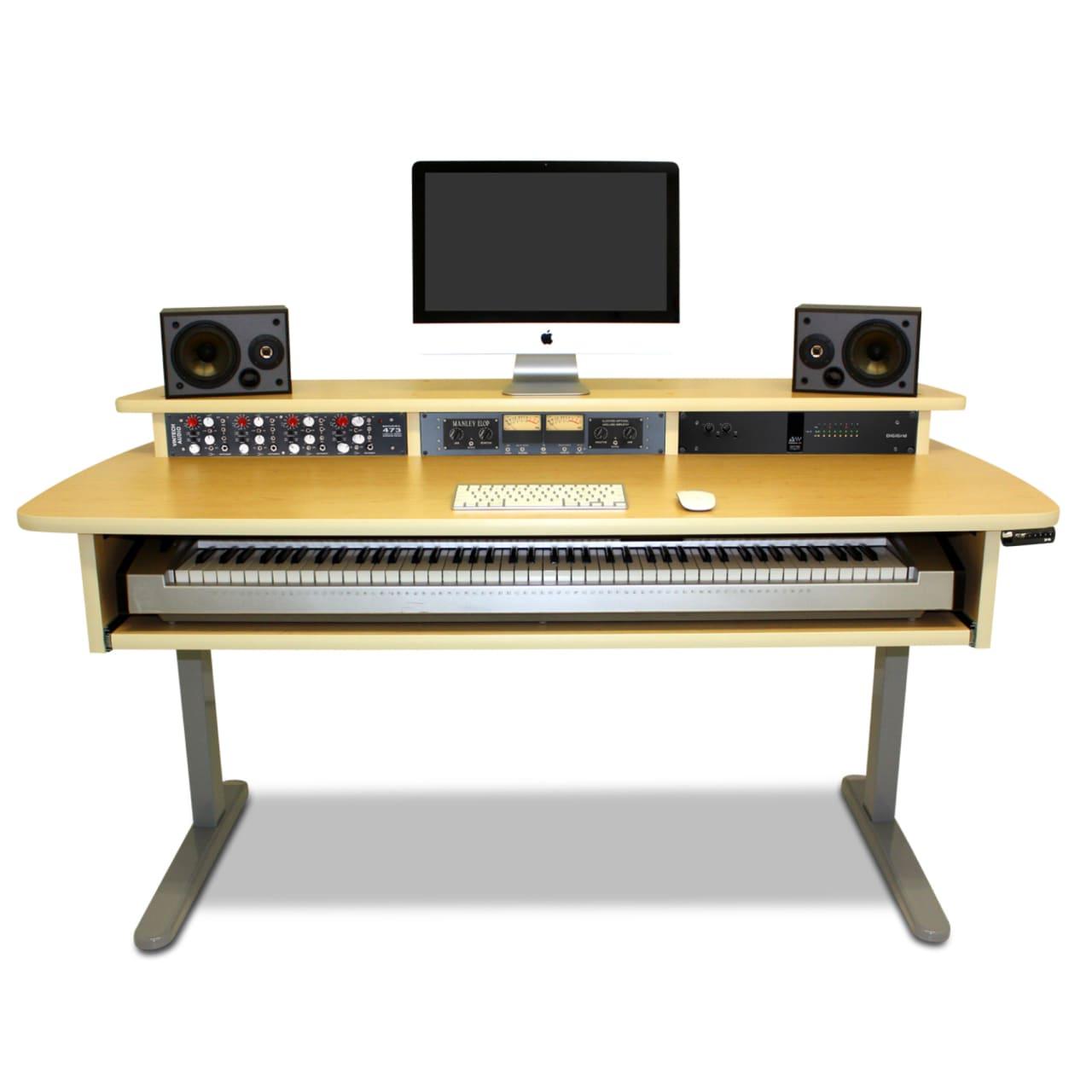 Summit Sit Stand Studio Desk Az Studio Workstations Reverb