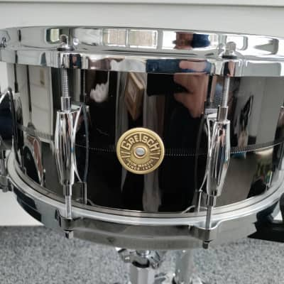 Gretsch 6.5 Snare Drum Nickel over Brass