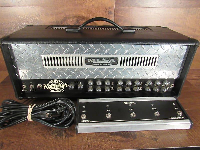 mesa boogie triple rectifier guitar amplifier head with reverb. Black Bedroom Furniture Sets. Home Design Ideas