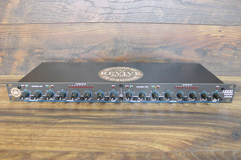 Dbx 166xl Dual Compressor, Limiter, Gate, Hot Rodded, With Vca Upgrade
