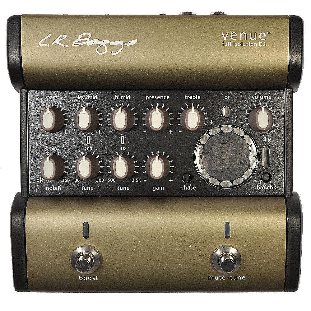 LR Baggs Venue Acoustic Full Isolation DI w/Tuner