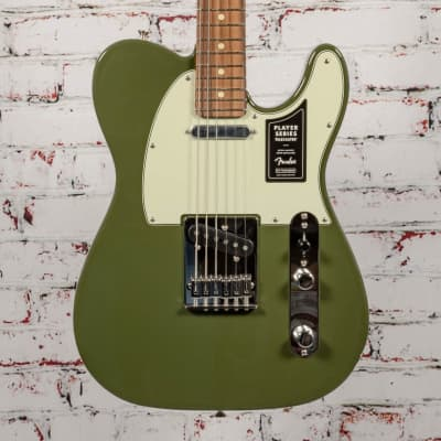 Fender B-Stock Limited Player Telecaster Olive x9411