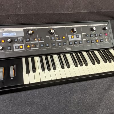 Moog Little Phatty Stage II Analog Synthesizer 37-Key Synth Made In USA