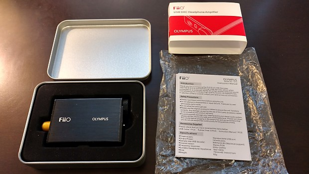 FiiO E10 USB DAC Headphone Amplifier | Kevin's Gear