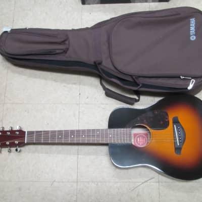 Yamaha JR2-TBS 3/4 Scale Folk Guitar Tobacco Brown  Sunburst w Gig Bag