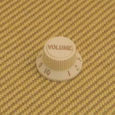 Fender 005-9266-030 (1) Fender Guitar S-1 Stratocaster Knob Kit Bottom/Top - Aged White image