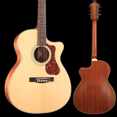 Guild Westerly Collection OM-240CE w/ Deluxe Bag Natural S/N G21809701 for sale