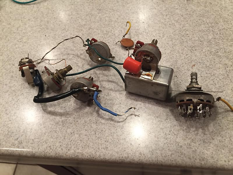 project gibson eb3 '71 wiring harness components 1971 varitone